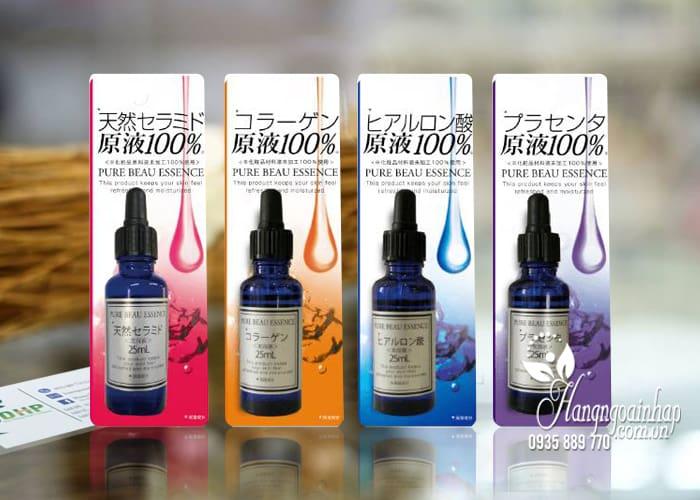 Serum trắng da White Beau Essence 25ml Nhật Bản đủ loại 1