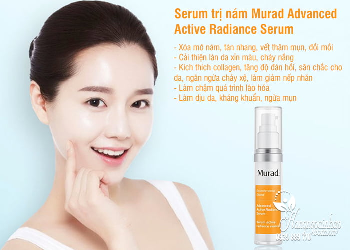 Serum trị nám Murad Advanced Active Radiance Serum 30ml 2