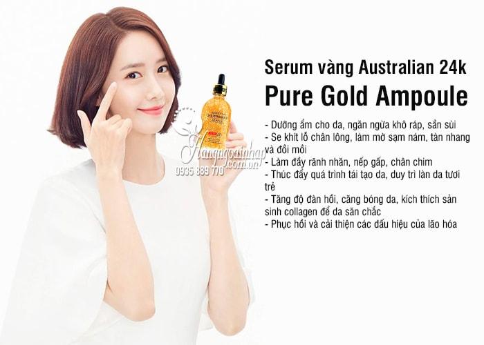 Serum vàng Australian 24k Pure Gold Ampoule 100ml của Úc 8
