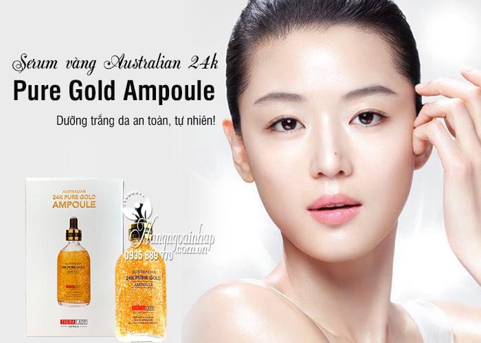 Serum vàng Australian 24k Pure Gold Ampoule 100ml của Úc 2