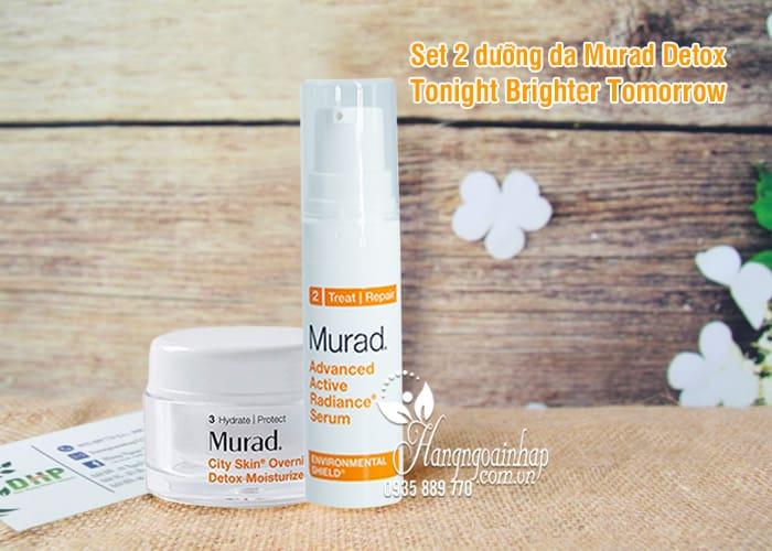 Set 2 dưỡng da Murad Detox Tonight Brighter Tomorrow của Mỹ 5