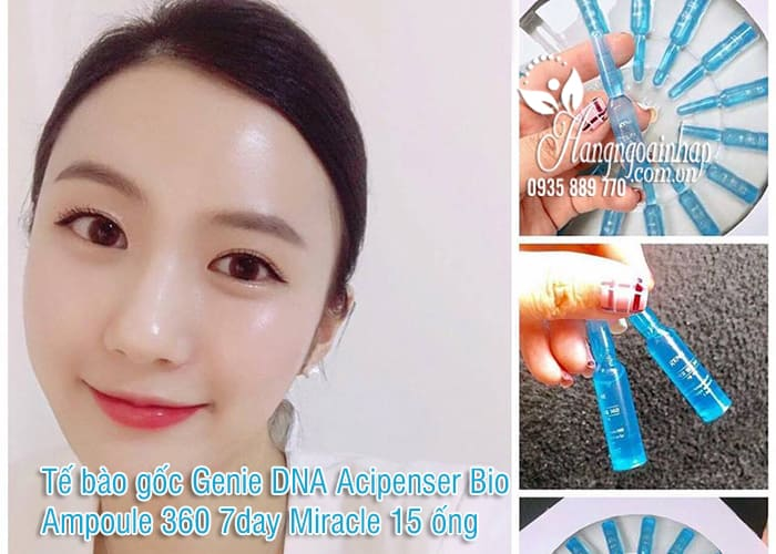 Tế bào gốc Genie DNA Acipenser Bio Ampoule 360 7day Miracle 15 ống 6