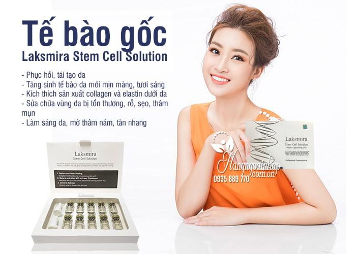 Tế bào gốc Laksmira Stem Cell Solution 10 lọ x 5ml Hàn Quốc 3