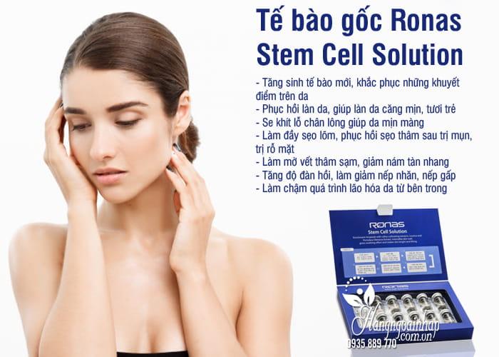 Tế bào gốc Ronas Stem Cell Solution Hàn Quốc 10 x 5ml 7