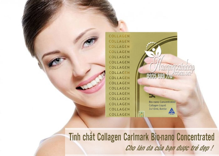 Tinh chất Collagen Carlmark Bio-nano Concentrated 3 x 10ml Úc 1