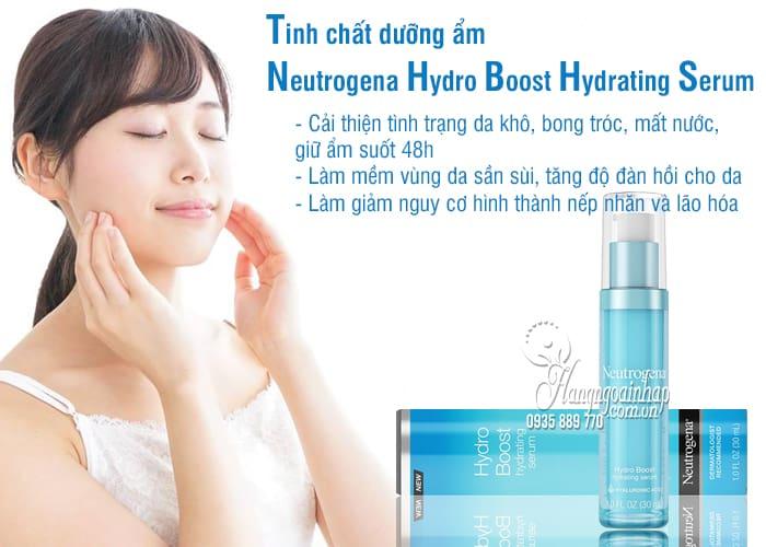 Tinh chất dưỡng ẩm Neutrogena Hydro Boost Hydrating Serum 30ml 3