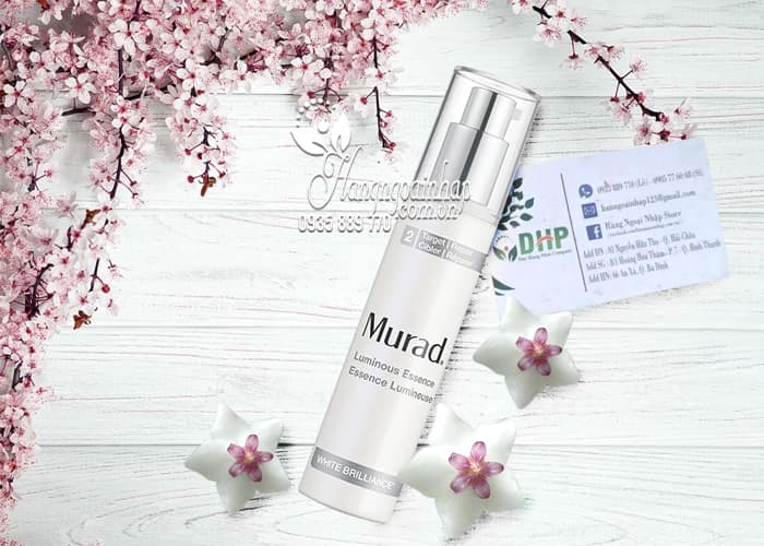 Tinh chất trắng da Murad Luminous Essence 50ml của Mỹ 5
