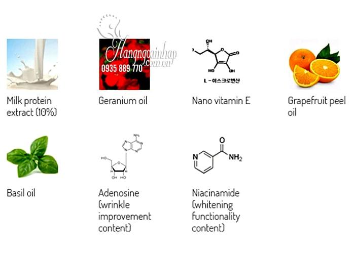 Tinh chất dưỡng trắng chuyên sâu Skin Booster Milk Oil Serum 4