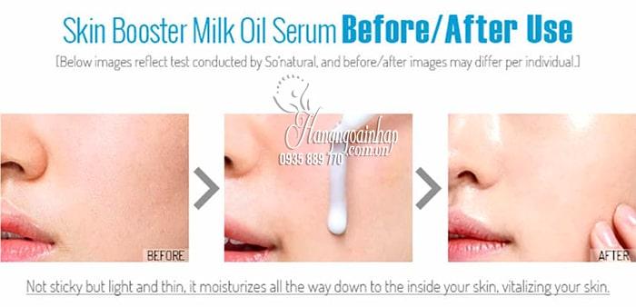 Tinh chất dưỡng trắng chuyên sâu Skin Booster Milk Oil Serum 5