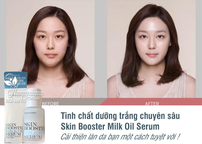 Tinh chất dưỡng trắng chuyên sâu Skin Booster Milk Oil Serum 1