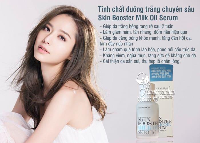Tinh chất dưỡng trắng chuyên sâu Skin Booster Milk Oil Serum 3