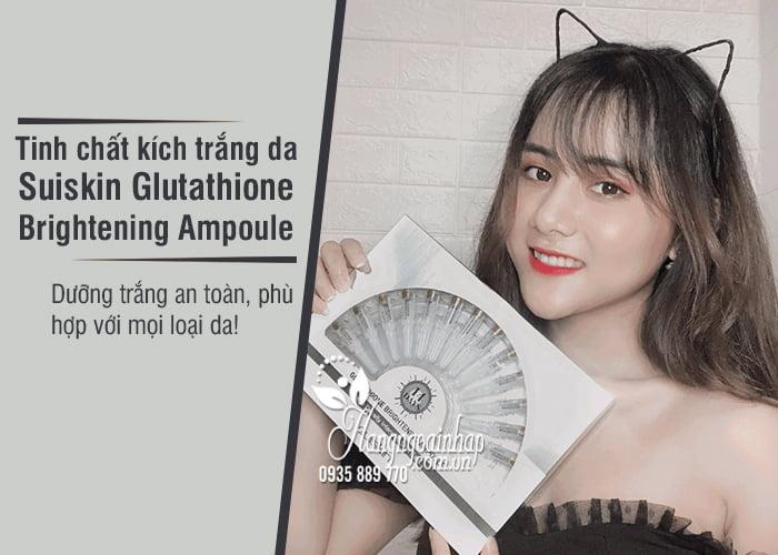 Tinh chất kích trắng da Suiskin Glutathione Brightening Ampoule 2
