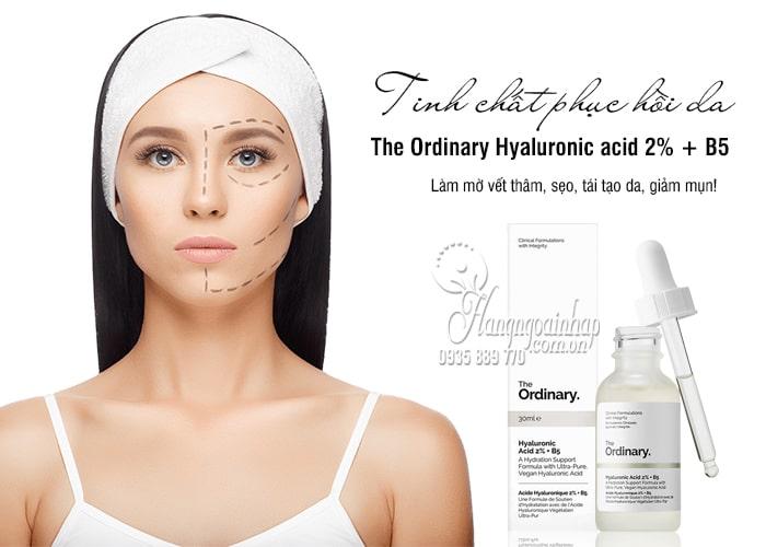 Tinh chất phục hồi da The Ordinary Hyaluronic acid 2% + B5 2