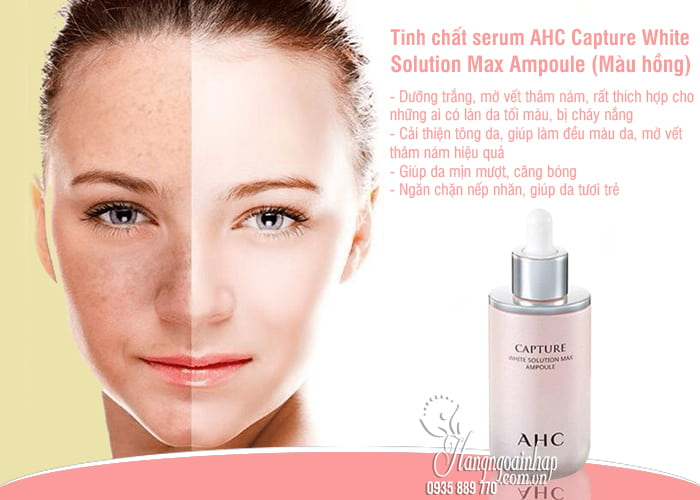 Tinh chất serum AHC Capture Solution Max Ampoule 50ml Hàn Quốc 5