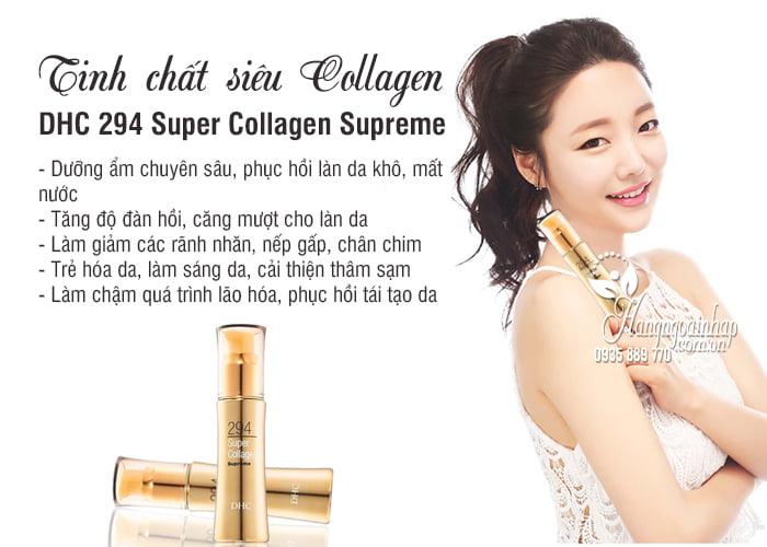 Tinh chất siêu Collagen DHC 294 Super Collagen Supreme Nhật 4