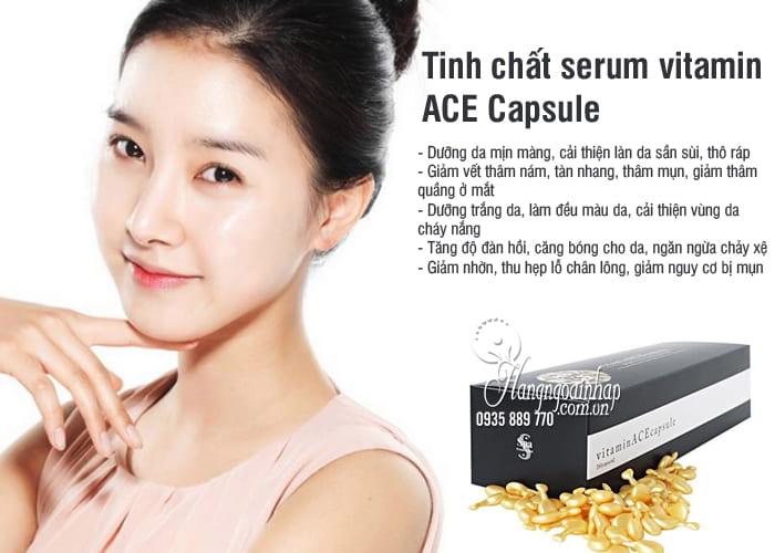 Tinh chất serum vitamin ACE Capsule của Nhật Bản 50 viên 7