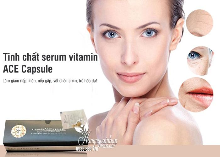 Tinh chất serum vitamin ACE Capsule của Nhật Bản 50 viên 4