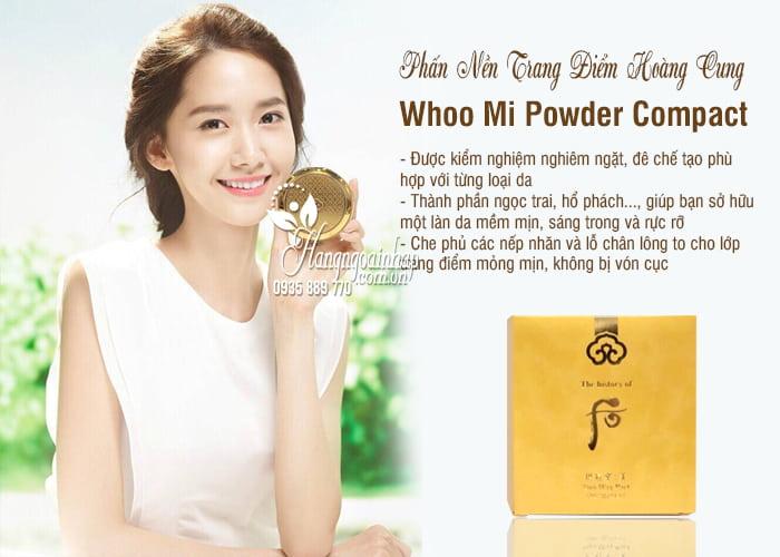 Phấn Nền Trang Điểm Hoàng Cung - Whoo Mi Powder Compact 3