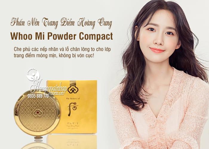 Phấn Nền Trang Điểm Hoàng Cung - Whoo Mi Powder Compact 1