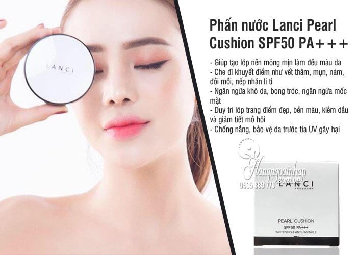 Phấn nước Lanci Pearl Cushion SPF50 PA+++ Hàn Quốc 15g 2