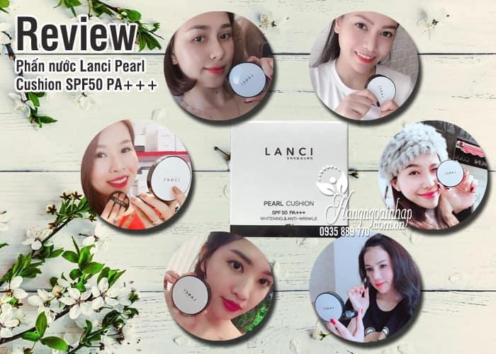 Phấn nước Lanci Pearl Cushion SPF50 PA+++ Hàn Quốc 15g 8