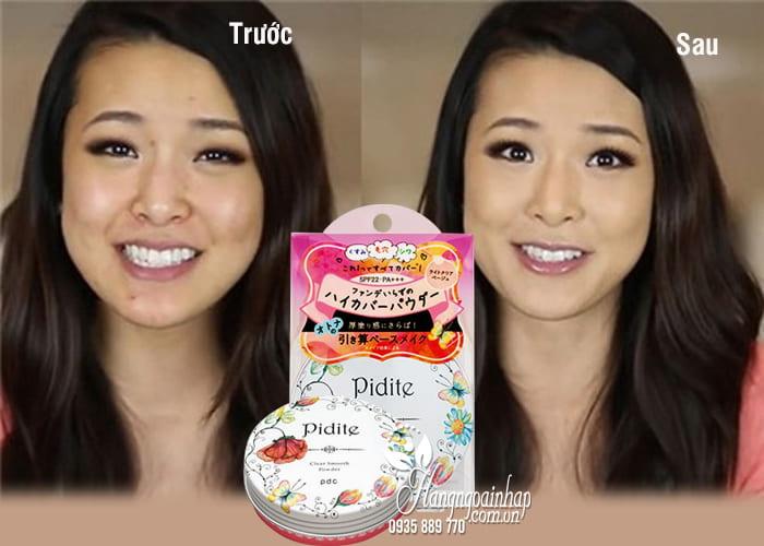Phấn phủ PDC Pidite Clear Smooth Powder SPF 22 PA+++ 27g Nhật Bản 2