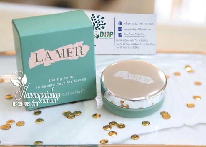 Son dưỡng môi La Mer The Lip Balm hũ 9g chính hãng 9