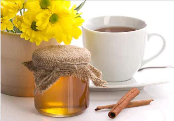 Sử dụng trà quế mật ong