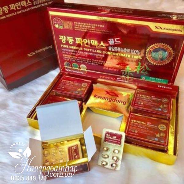 Tinh dầu thông đỏ Kwangdong Hàn Quốc 120 viên
