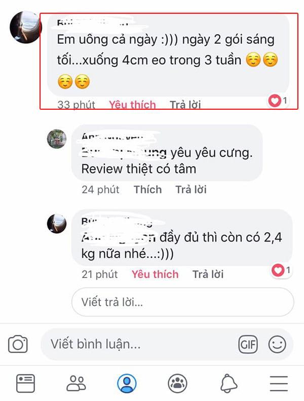 Trà giảm cân ban đêm orihiro night diet tea mẫu mới review có tốt không từ người dùng facebook