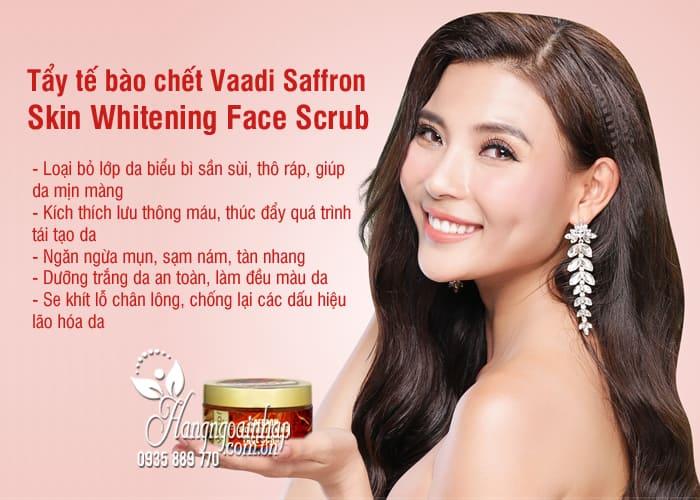 Tẩy tế bào chết Vaadi Saffron Skin Whitening Face Scrub 2