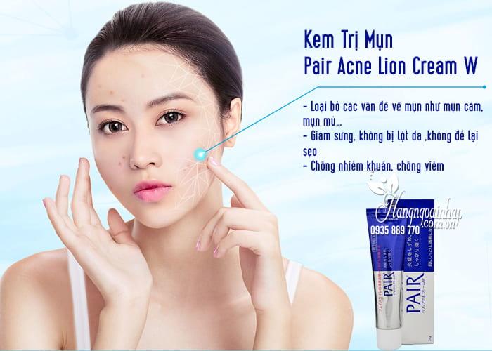 Kem Trị Mụn Pair Acne Lion Cream W 24g Của Nhật 1