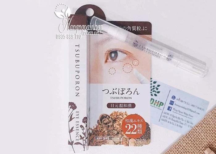 Kem trị mụn thịt quanh mắt Tsubuporon tốt nhất Nhật Bản 6