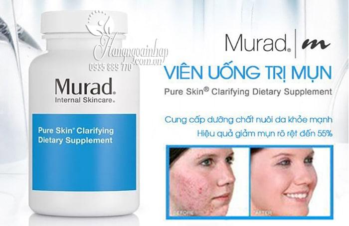 Viên uống trị mụn Murad Pure Skin Clarifying Dietary Supplement 1