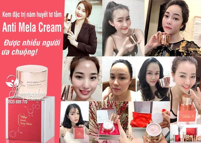 Kem đặc trị nám huyết tơ tằm Anti Mela Cream 50ml Hàn Quốc 2