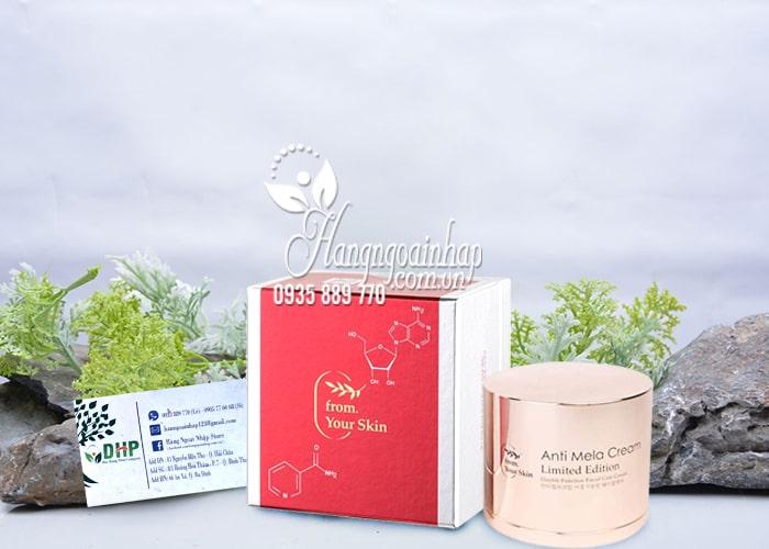 Kem đặc trị nám huyết tơ tằm Anti Mela Cream 50ml Hàn Quốc 8