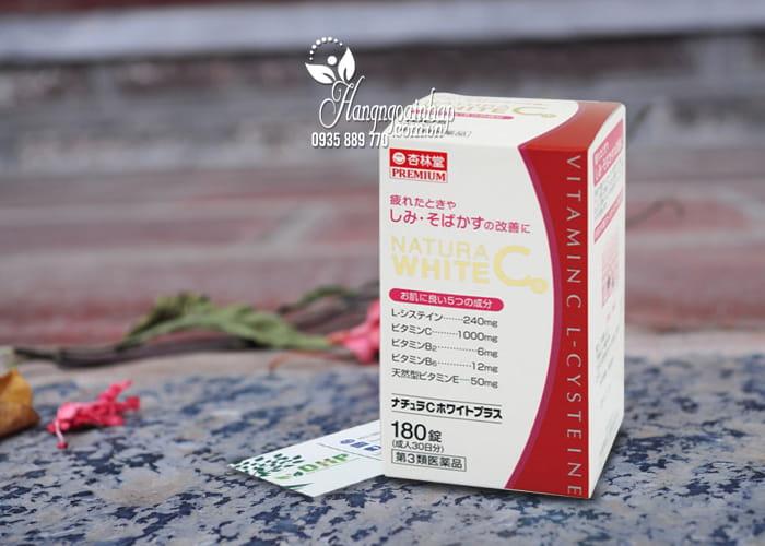 Viên uống trắng da trị thâm nám Natura White C Premium Nhật Bản 1