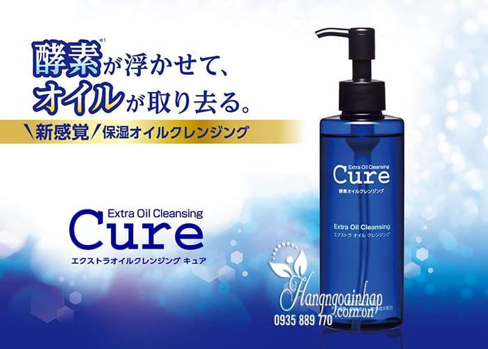 Dầu tẩy trang Cure Extra Oil Cleansing 200ml của Nhật 4