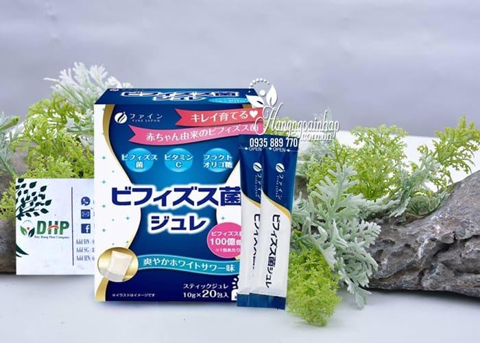 Thạch men vi sinh Bifidobacteria Jelly Nhật Bản hộp 20 gói 9