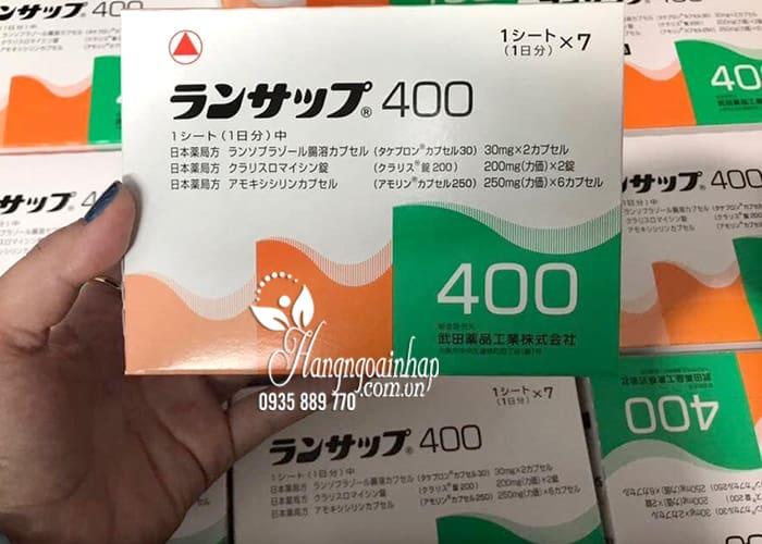Thuốc đặc trị vi khuẩn HP Lansup 400 của Nhật Bản  1