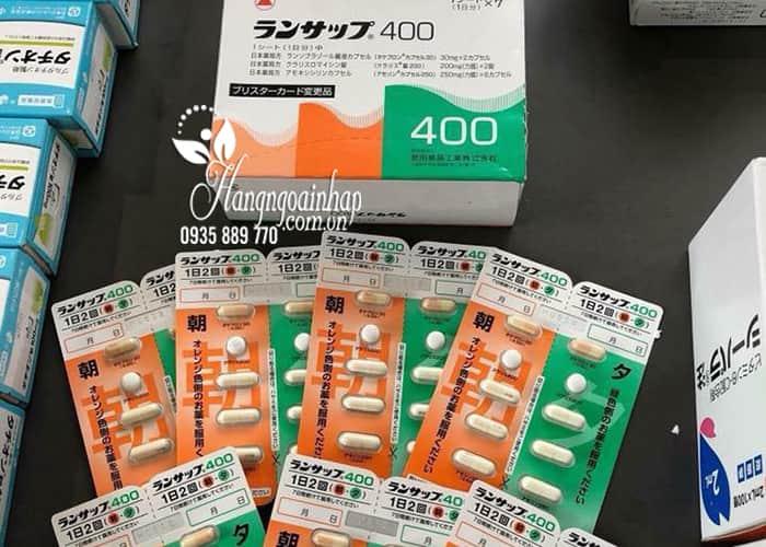 Thuốc đặc trị vi khuẩn HP Lansup 400 của Nhật Bản  5