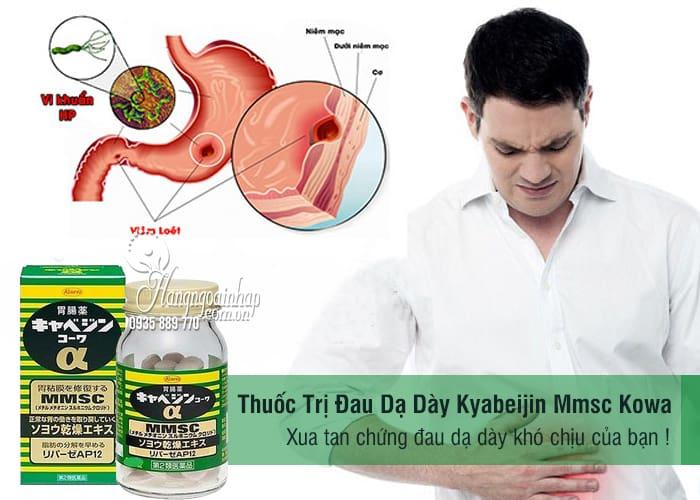 Thuốc Trị Đau Dạ Dày Kyabeijin Mmsc Kowa 300 Viên Của Nhật 4