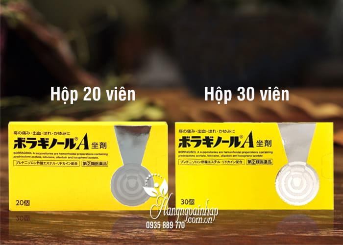 Viên đặt trị trĩ chữ A của Nhật Bản 20 viên hiệu quả nhất 77