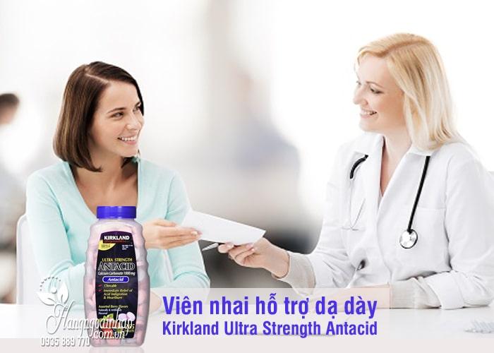 Viên nhai hỗ trợ dạ dày Kirkland Ultra Strength Antacid 265 viên 8