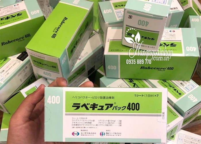 Viên uống đặc trị vi khuẩn HP Rabecure 400 Eisai Nhật Bản 8