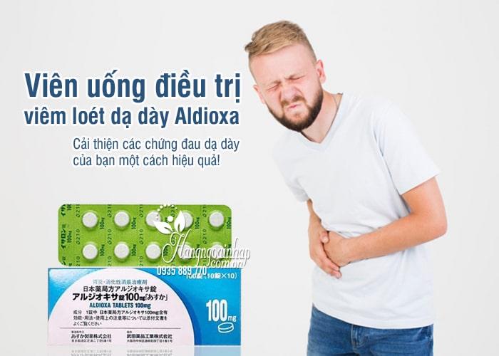 Viên uống điều trị viêm loét dạ dày Aldioxa 100mg 100 viên 7
