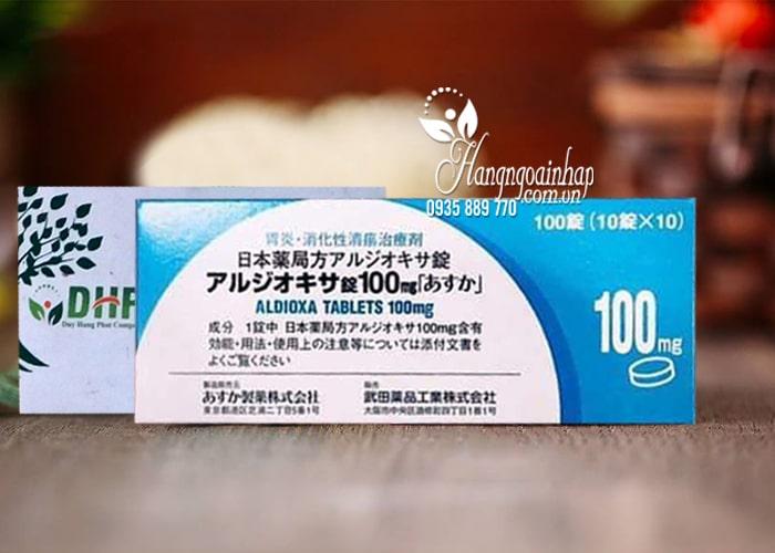 Viên uống điều trị viêm loét dạ dày Aldioxa 100mg 100 viên 2