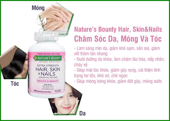 Nature's Bounty Hair, Skin & Nails 250 Viên Của Mỹ 6