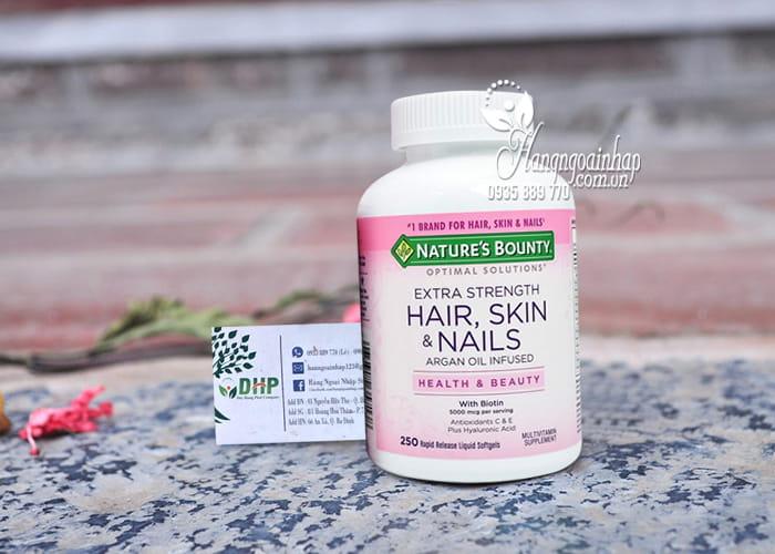 Nature's Bounty Hair, Skin & Nails 250 Viên Của Mỹ 9