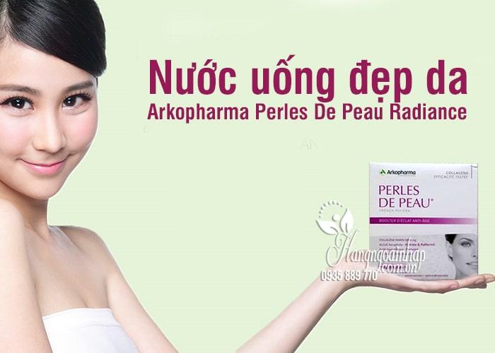 Nước uống đẹp da Arkopharma Perles De Peau Radiance 10 lọ 3
